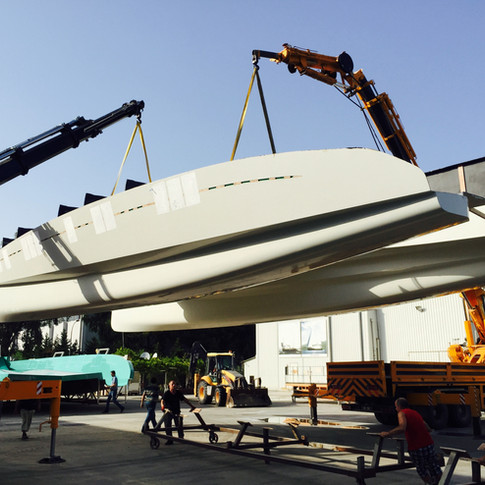 64 foot Catamaran Hull