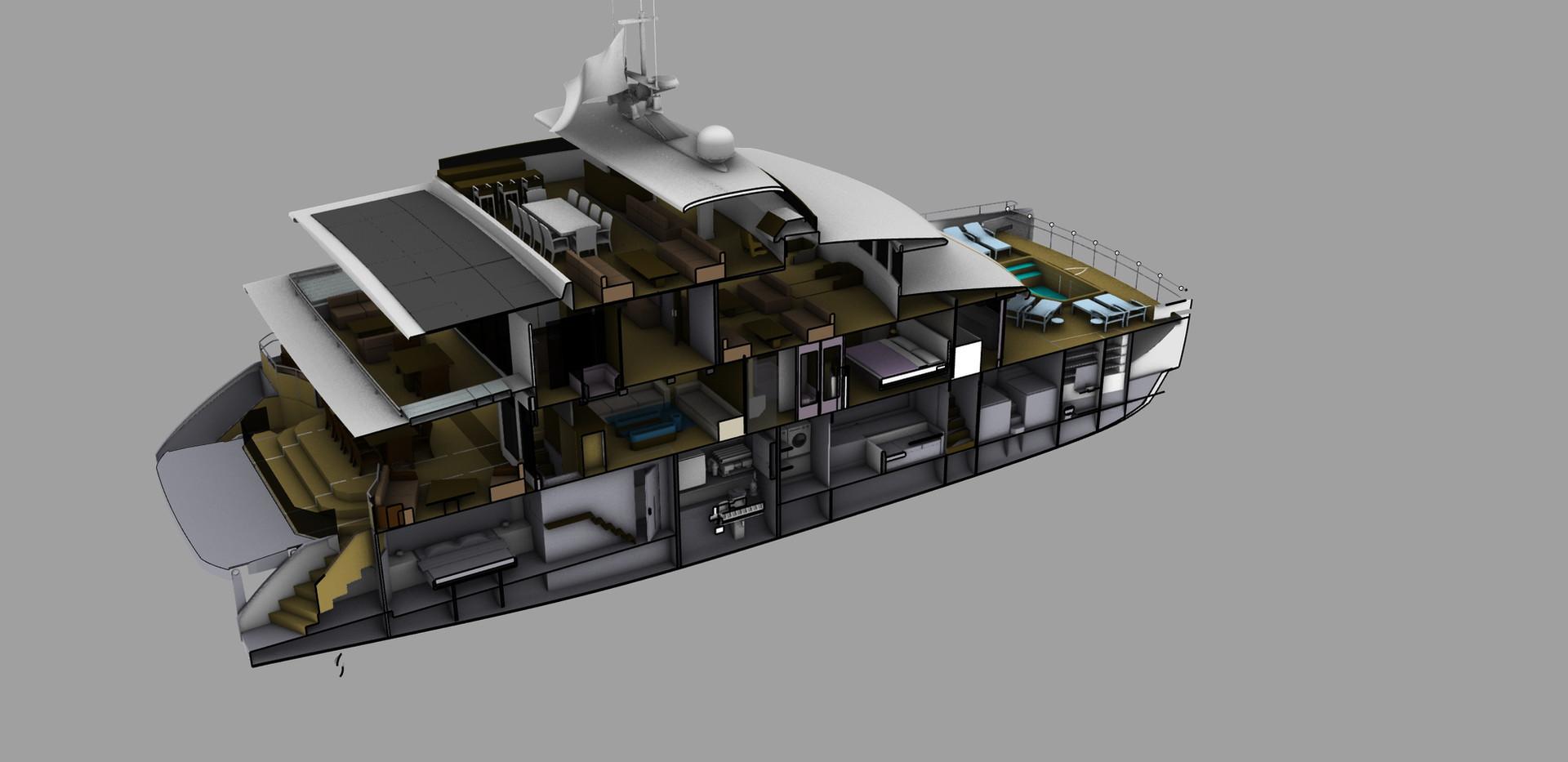 Magic 100 Tri-Deck