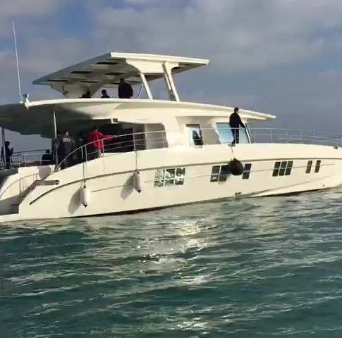First Sea trials with Serenity 64'-A