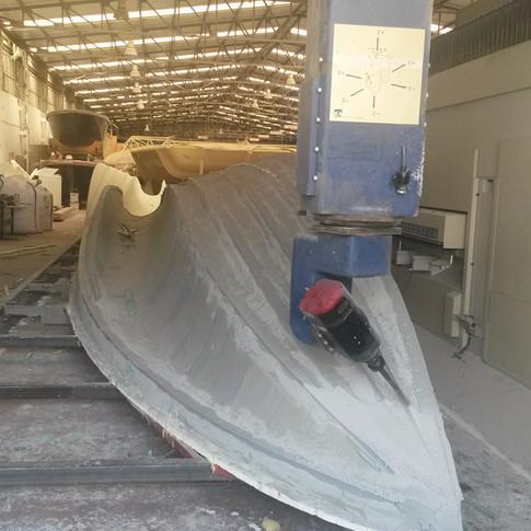 CNC milling a plug