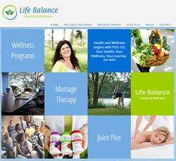 Life Balance website