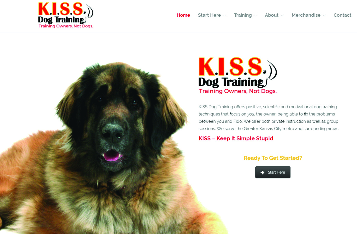 KISS Dog Training Web