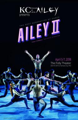 Ailey II Program Cover
