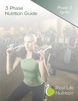 Real Life Nutrition Cover Sheet
