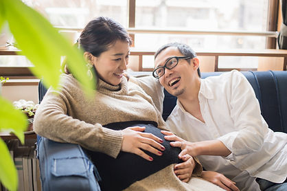 Young Couple Expecting a Baby, Private Childbirth Education, Sound Birth Services, Comox Valley