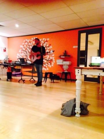 Luke Watson - Singing party 8th February 2014
