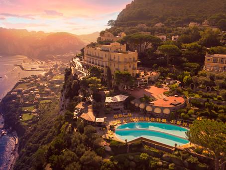 Island of Capri: Relais & Chateaux Caesar Augustus