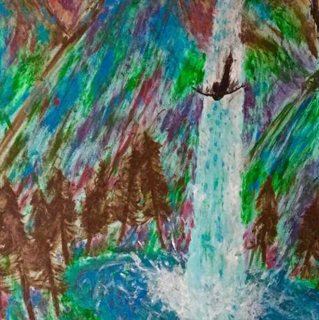 Waterfall Freefall