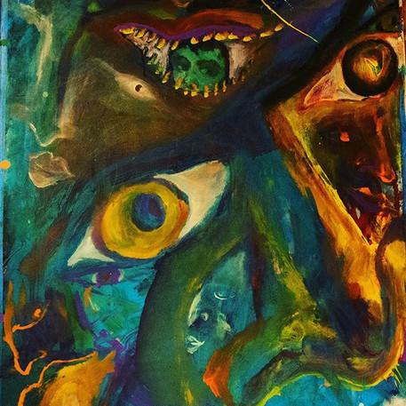 Third eye_#painting