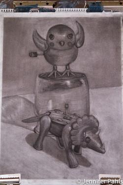 Evolution: A Wind-up Toy Depiction