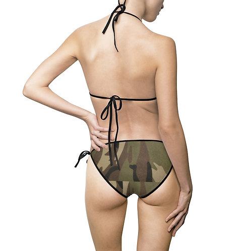 Camo Women's Bikini Swimsuit