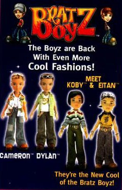 THE BRATZ BOYZ & KIDZ GALLERY 2001 IS OFFICIALLY OPEN...AND COMPLETE!