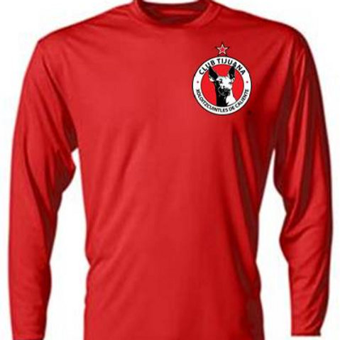 Xolos NJ Red Long sleeve top