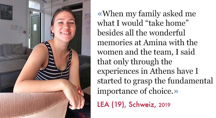 Lea, Volunteer SAO Association