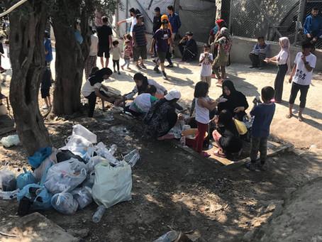 Dramatische Lage auf Lesbos.