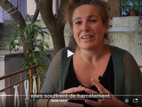 RTS: «Dans l'enfer de Lesbos, un havre de paix pour les femmes migrantes»