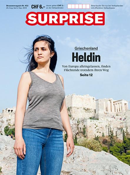 Surprise Cover, die Heldin