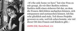 Laura, Volunteer Bashira
