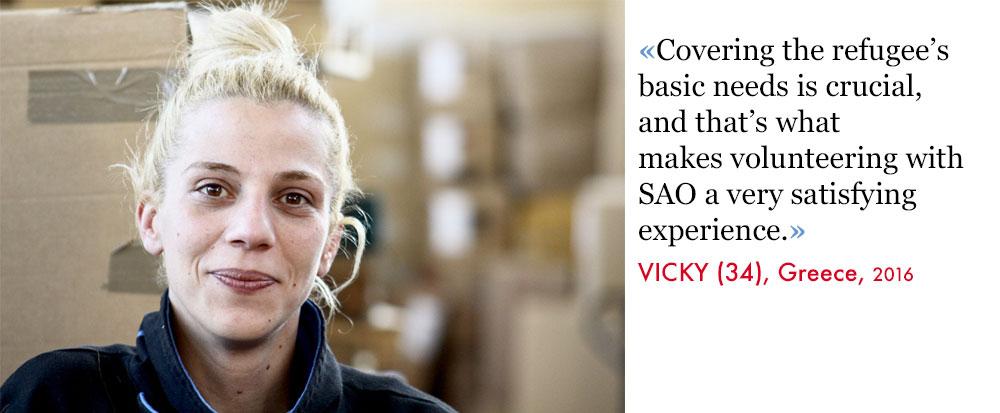 Vicky, Volunteer SAO Association