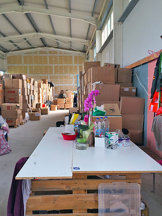 Attika – Lagerhaus von SAO auf Lesbos