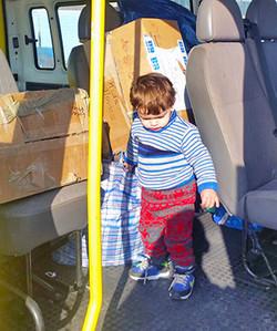 Small boy, Lesvos; © SAO Association
