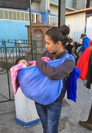 Flüchtlingsbetreuung auf Lesbos durch SAO