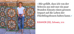 Eleanor, Volunteer SAO Association