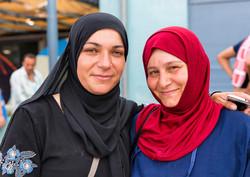 Two women, Piraeus; ©Danny Reardon