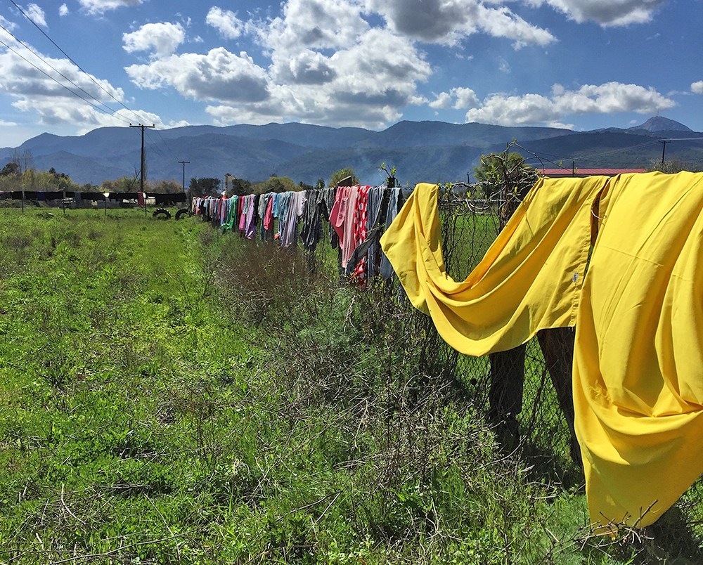 Laundry drying, © SAO Association