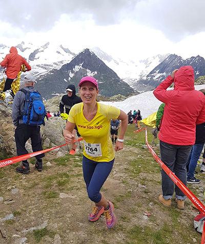 Annick Girardier, Aletsch Halbmarathon