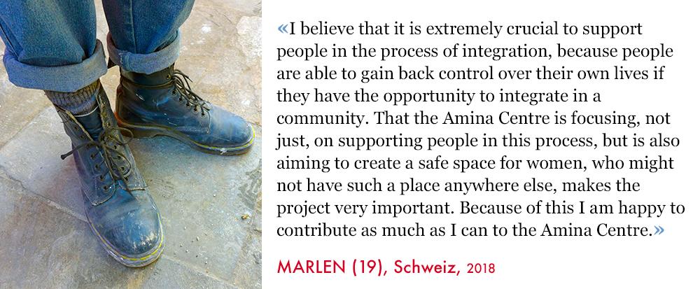 Marlen, Volunteer SAO Association