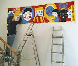 Amina Centre get its Logo