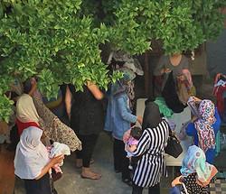 Donation of Hijabs for Bashira
