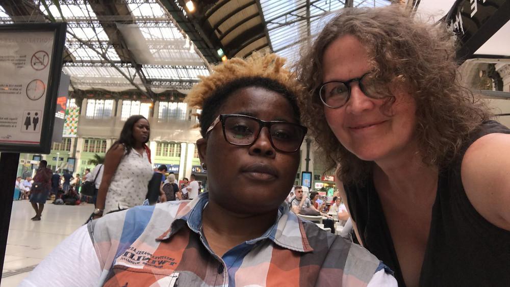 Lafortune und SAO-Vorstandsmitglied Christine Loriol in Paris.