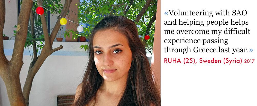 Ruha, Volunteer SAO Association