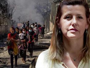 «Es ist zweitrangig, warum das Feuer im Flüchtlingslager ausbrach – es droht eine Katastrophe»