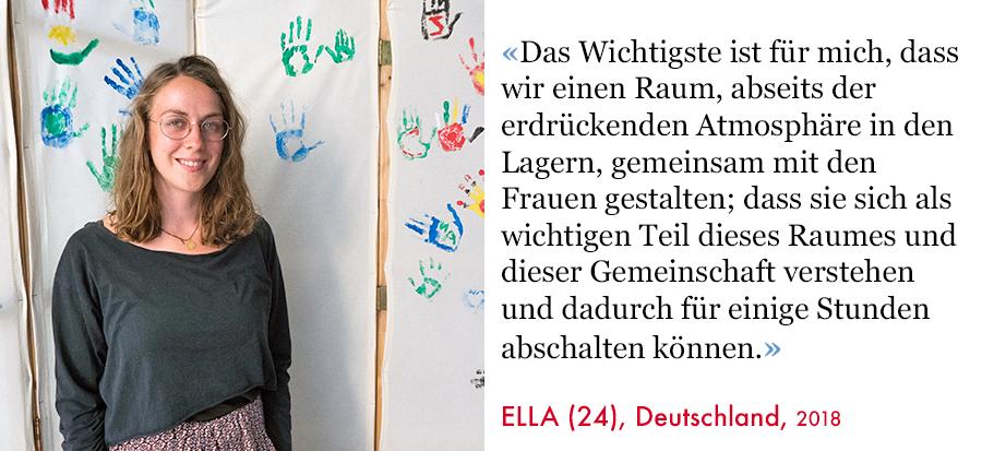 Ella, Volunteer SAO Association