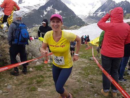 Annick läuft den Aletsch-Halbmarathon für SAO!