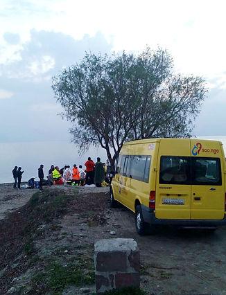 Assist – SAO-Van im Einsatz auf Lesbos