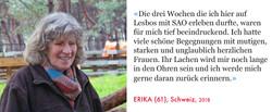 Erika, Volunteer SAO Association