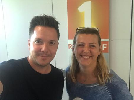 Radio SRF1: Raquel Herzog als Morgengast bei Sven Epiney