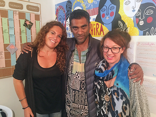 Kumi Naidoo honored Bashira