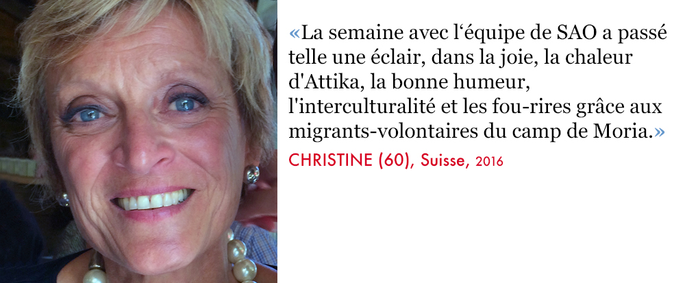 Christine, Volunteer SAO Association