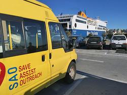 Sao Van on its way to Greece