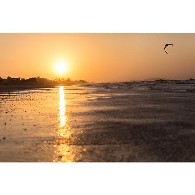 Instagram - To achando que hoje é dia de kite!  Por do sol em jeri By me! #kite