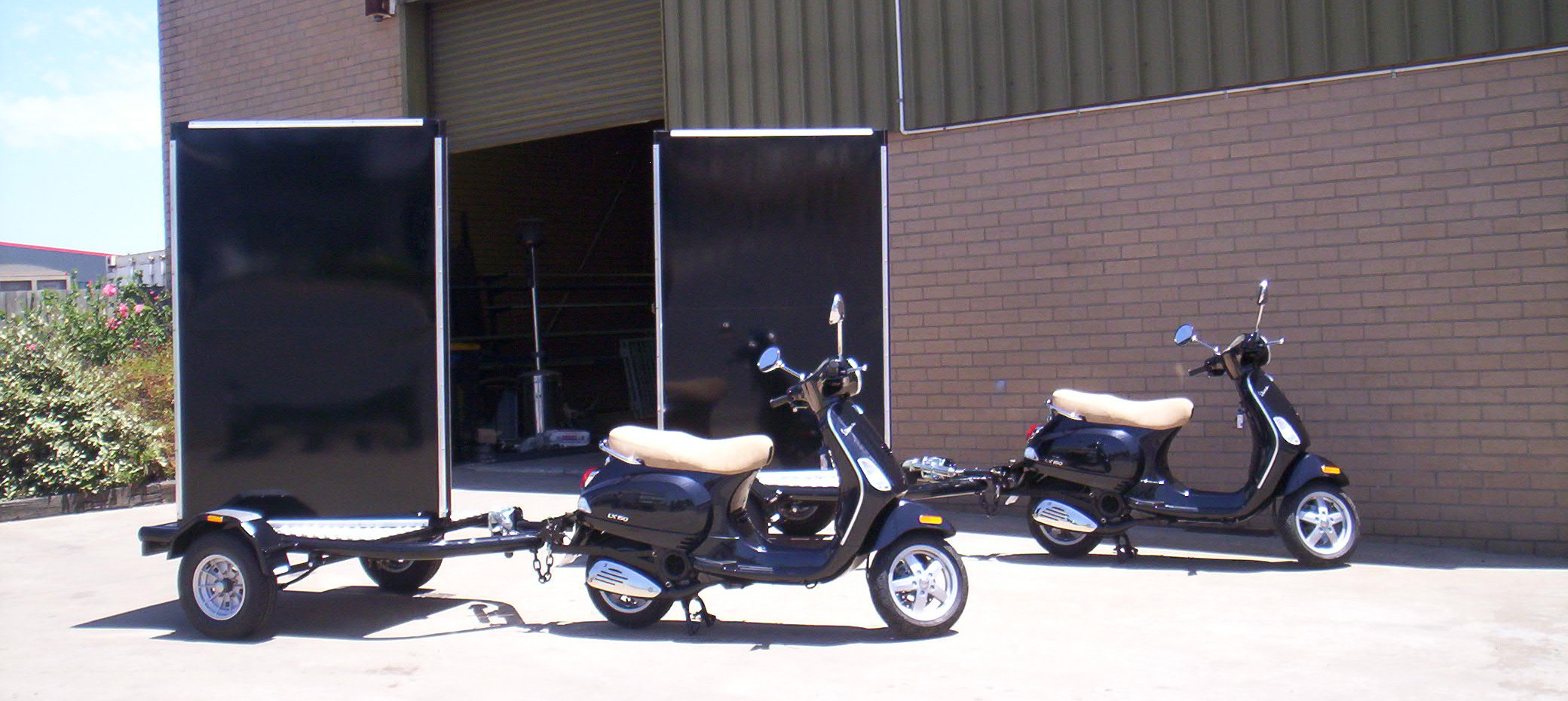 Scooter Billboard Trailer