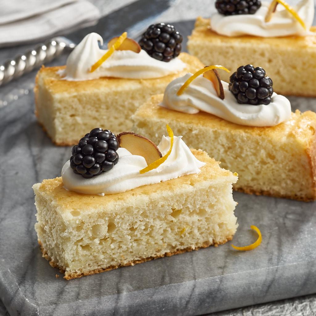 Orange Almond Sponge Cake