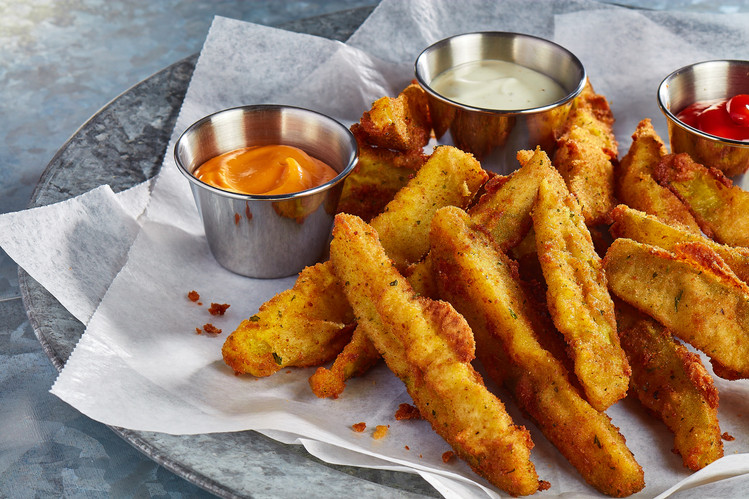 Fried Pickle Spears & Dips