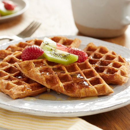 Honey Cinnamon Waffles.