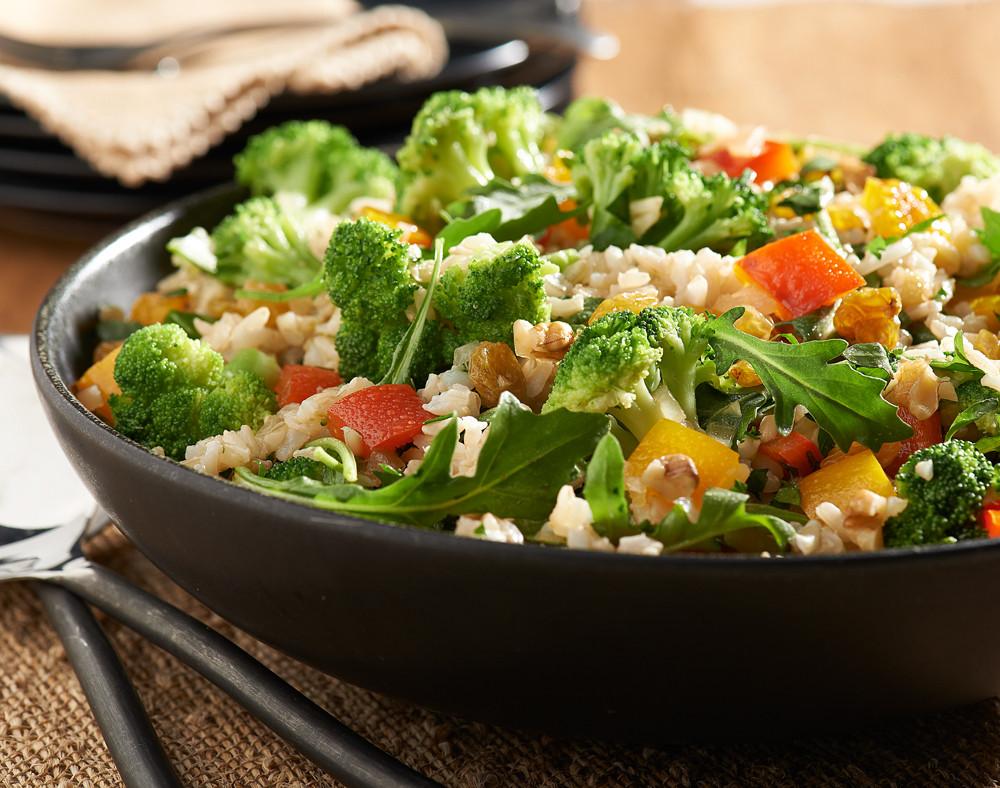 Broccoli & Brown Rice Salad